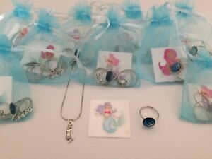 Mermaid Pre Filled Gift Bag, Party Filler, Under The Sea, Magical, Little, Ring