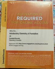 Introductory Chemistry:A Foundation Cengage Access & Book 8th Ed Zumdahl