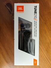 Brand NEW!!! JBL TUNE 210 In-Ear Headphone with One-Button Remote/Mic, Black