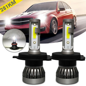 KIT Mini Bombillas LED H1 / H7 / H9 /H8 / H11 / 9006 36W 6000K COB Luz led coche