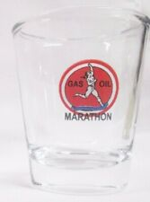 Marathon Gas & Oil Logo Shot Glass