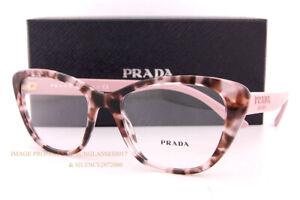 Brand New Prada Eyeglass Frames PR 04WV ROJ Pink Havana For Women Size 54