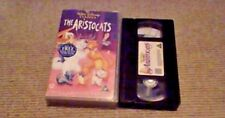 The Aristocats WALT DISNEY CLASSIC UK PAL VHS VIDEO 2000 Scatman Crothers Jazz