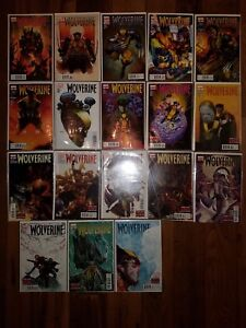 MARVEL COMICS LOT: WOLVERINE #300-317  (2012)  AARON