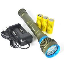 22000LM 7XM-L L2 Diving Torcia  LED immersione subacquea della torcia elettrica