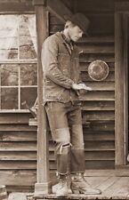 Levis VINTAGE LVC 1915 501 White Oak Blu Cimosa Jeans Cinch indietro pulsanti W 30