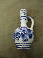 #PP.   HAND PAINTED DELFT CEREMIC  JUG