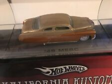Hot Wheels Kalifornia Kustoms 49 Merc Tube Brown/Gold