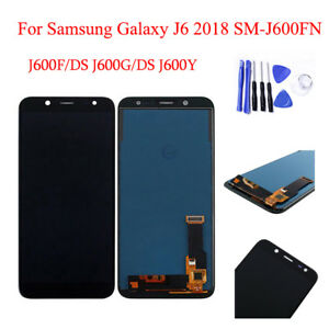 New Touch Screen LCD Display For Samsung Galaxy j6 2018 sm-j600fn/ds Black
