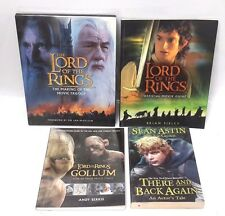 Lord of Rings Official Movie Guide Book & 3 Makings Of Books- Set of 4- Unread