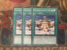 Yu-Gi-Oh The Sanctuary In The Sky SDLS-EN027! Common! 1st! X3!!
