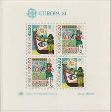 Europa CEPT 1981 Folklore  Portugal Blok 32 Cataloguswaarde € 10