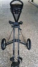 Sun Mountain Speed Cart V1-  3-Wheel Golf Push Cart- Black - Great Shape!