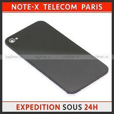 Vitre arrière sur chassis sans logo pour iPhone 4S noir
