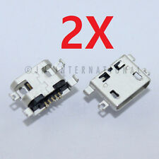 2X Alcatel One Touch 960C 5017B P310A USB Charger Charging Port Dock Connector