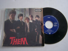 EP 4 TITRES VINYLE 45 T , THEM , GLORIA   . VG - / VG  . DECCA 457.073