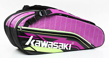Kawasaki Force KBB-8680 Purple/Black Racket Bag  >> REDUCED - LAST 1 <<