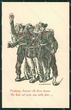 Militari Bersaglieri Genova Mazzoni cartolina QT5696