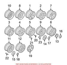 For BMW Genuine Tire Pressure Monitoring System Valve Stem Core 36141095389