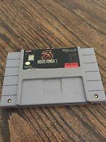 Mortal Kombat 3 Super Nintendo SNES Game Cart Tested SN1