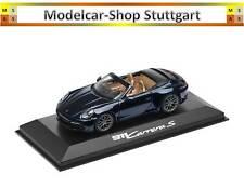 Porsche 911 (992) CARRERA S Cabriolet Midnight Blue Metallic - Minichamps 1:43 -