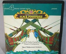 "7"" Reel Tape- Gilbert & Sullivan ~ H.M.S. Pinafore ~ 3.75 Ips Play Tested Box Y"