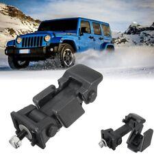 For 2007-2017 Jeep Wrangler JK Hood Hold Down Catch Lock Latch 2Pcs+Brackets HM1