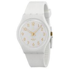 Swatch White Bishop White Dial Unisex Watch GW164