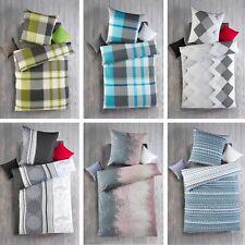 2-teilige **EXKLUSIV** Renforcé Bettwäsche 135x200 cm Design 100% Baumwolle