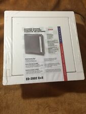 "Acudor ED0808SCPC ED-2002 Metal Access Door 8""x 8""Height/Length"