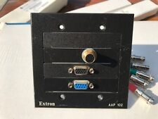 Extron AAP 102 Mounting Frame Black, VGA/S-Video/DB9
