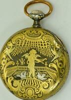 ONE OF A KIND Imperial Russian Royal Family's Omega Gold&Steel Damascene watch