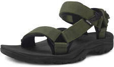 ATIKA Men's Outdoor Hiking Sandals, Open Toe Arch Support Strap Water Sandals