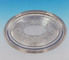 Gorham Sterling Silver Tray Oval Footed w/ Roses and Ivy BC Design #880 (#3540)
