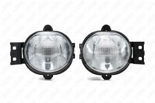 For 04-06 Dodge Durango RAM CLEAR Lens Fog Driving Light Assembly +Switch +Bulbs