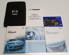 2007 MAZDA6 OWNERS MANUAL GUIDE I S SPORT TOURING GRAND VE V4 2.5L V6 3.7L S SET
