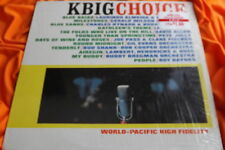 NM in shrink World - Pacific Jazz Compilation LP: Bud Shank ~ KBIG Choice