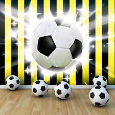 FOTOTAPETE FOTOTAPETEN TAPETE TAPETEN POSTER  FUSSBALL BALL TOR SPIEL  3FX474P4