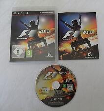 Formula 1 2010 für PS3