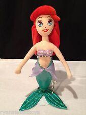 "Disney The Little Mermaid PRINCESS ARIEL Stuffed plush large 19"" Sega Doll"