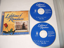 LIFETIME OF ROMANCE IT MUST BE LOVE- 2 cd 32 TRACKS TIME LIFE MUSIC-2004