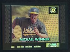 "2000 Bowman Chrome ""Retro/Future Refractor"" MICHAEL WENNER RC #240  **TOUGH SET!"