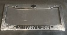 Penn State License Plate Frame Nittany Lions Licensed Product Plastic NCAA New