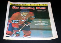 THE SPORTING NEWS COMPLETE NEWSPAPER FEBRUARY 1 1975  GUY LAFLEUR MONTREAL