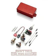 EMG 81TW RED DUAL MODE HUMBUCKER / SINGLE COIL PICKUP ( SHIPS FREE WORLDWIDE )