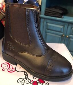 Heres what makes these boots special Unisex ARIAT Youth Kids Junior Devon 3 Zip Short Riding Boots Sienna
