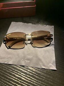 Cartier Buffalo Horn Sunglasses