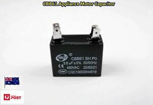 CBB61 450VAC Appliance Motor Start Run Capacitor 3.0uF 50/60Hz 2+2 pins (C427)
