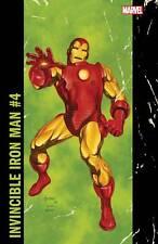 INVINCIBLE IRON MAN #4 JUSKO CORNER BOX VAR MARVEL COMICS