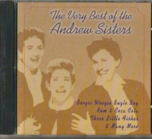 C.D.MUSIC I388     THE VERY BEST OF THE  ANDREW SISTERS